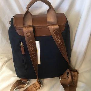 Calvin Klein Backpack Light Blue/Brown Bag